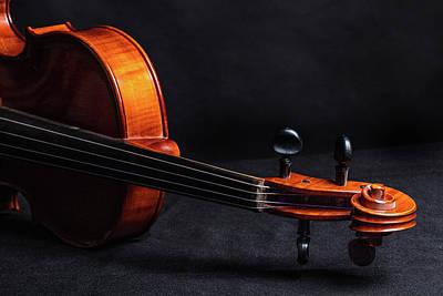 Photograph - Antique Violin 1732.69 by M K Miller
