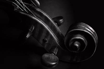Photograph - Antique Violin 1732.73 by M K Miller