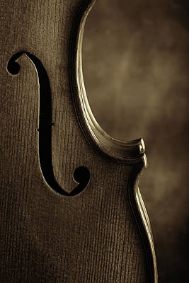 Photograph - Antique Violin 1732.76 by M K Miller