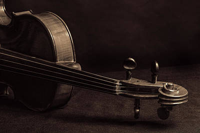 Photograph - Antique Violin 1732.79 by M K  Miller