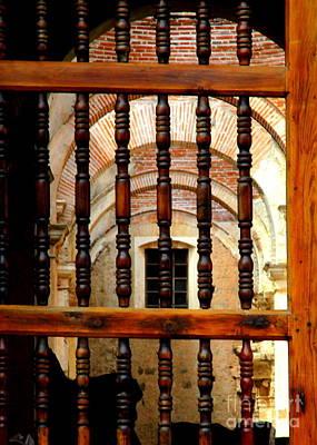 Photograph - Antigua Door 12 by Randall Weidner
