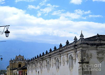Photograph - Antigua Roof 2 by Randall Weidner