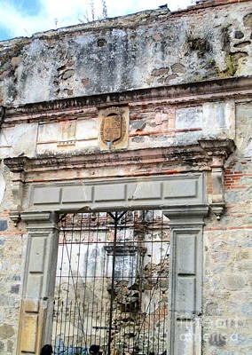 Photograph - Antigua Ruins 5 by Randall Weidner