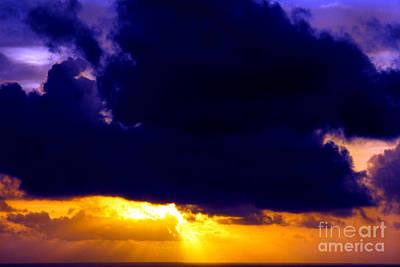 Silver Lining Photograph - Antigua Sunrise by Thomas R Fletcher