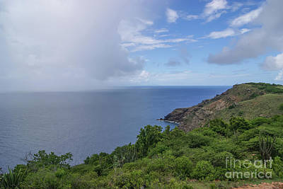 Photograph - Antigua View From Shirley Heights by Olga Hamilton