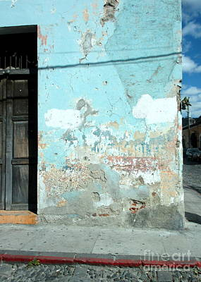 Photograph - Antigua Wall by Randall Weidner