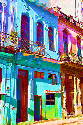 Antiquated Havana Art Print by Chris Andruskiewicz