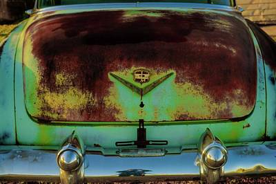 Photograph - Antique 1953 Cadillac Turtle Hull Trunk by Douglas Barnett