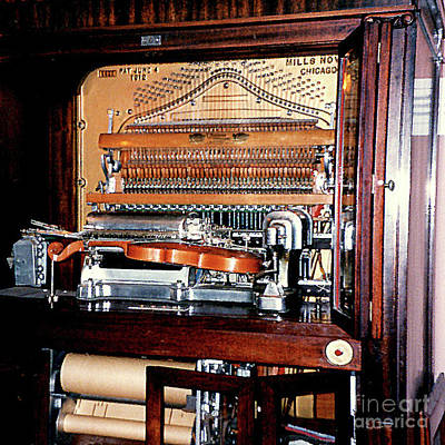 Photograph - Antique Air-pressure Music-making Machine by Merton Allen