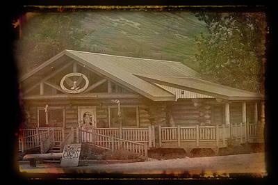 Photograph - Antique Amber Summit Lake Lodge Alaska 2 by Aimee L Maher Photography and Art Visit ALMGallerydotcom