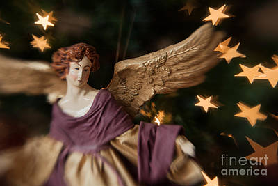 Photograph - Antique Angel by Marianne Jensen