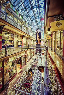 Photograph - Antique Arcade by Ray Warren