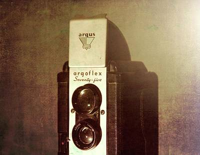 Photograph - Antique Argus Camera by Dan Sproul