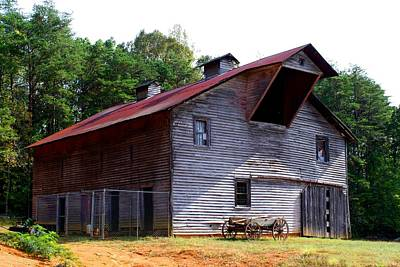 Photograph - Antique Barn by Kathryn Meyer