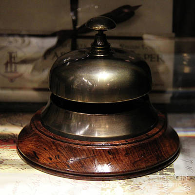 Photograph - Antique Bell by Kasia Bitner