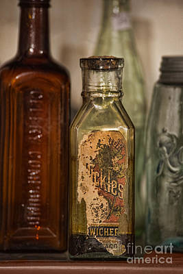 Photograph - Antique Bottles by David Arment