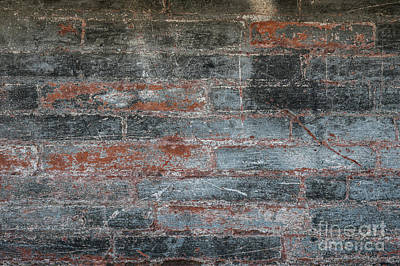Photograph - Antique Brick Wall by Elena Elisseeva