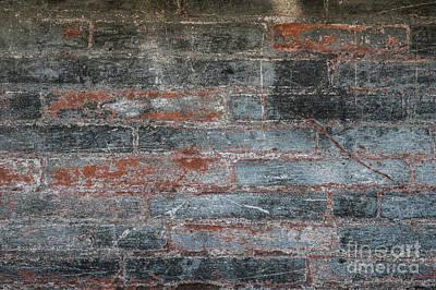 Paint Photograph - Antique Brick Wall by Elena Elisseeva
