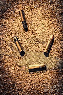 Photograph - Antique Bullet Art by Jorgo Photography - Wall Art Gallery