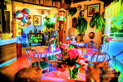Digital Art - Antique Cafe by Rick Bragan