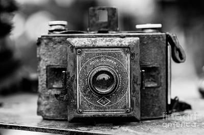 Photograph - Antique Camera by Jim Corwin