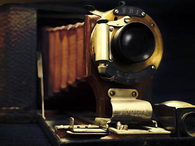 Photograph - Antique Camera - Photography by Ann Powell