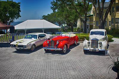 Photograph - Antique Car Show Series 01 by Carlos Diaz