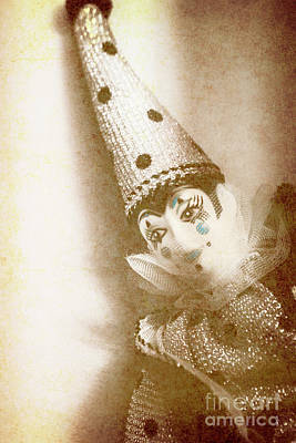 Clown Photograph - Antique Carnival Doll by Jorgo Photography - Wall Art Gallery