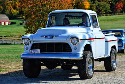 Photograph - Antique Chevrolet 3100 Pickup Truck by Mike Martin