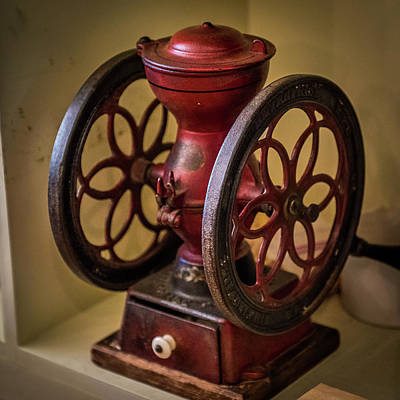 Photograph - Antique Coffee Mill by Paul Freidlund