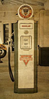 Photograph - Antique Conoco Gas Pump Regular by David King