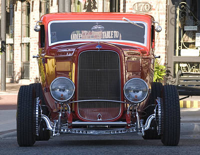 Photograph - Antique Coup Front End by Brian Kinney