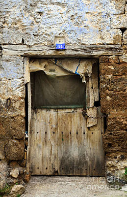 Photograph - Antique Damaged Door by RicardMN Photography