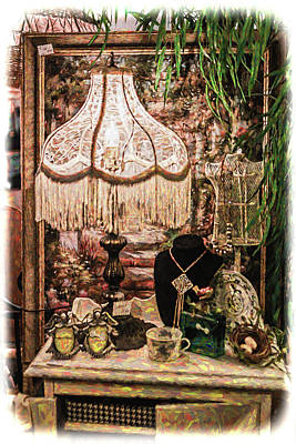 Photograph - Antique Display by Lewis Mann