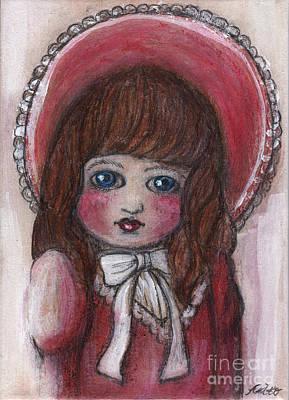 Antique Doll 2 Original by Akiko Okabe