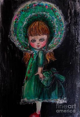 Avant Garde Mixed Media - Antique Doll by Akiko Okabe