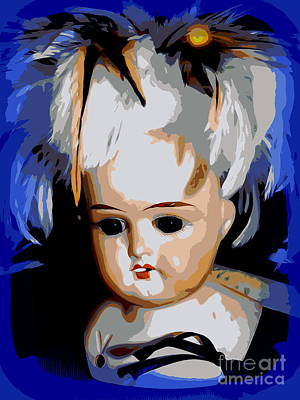 Digital Art - Antique Doll by Ed Weidman
