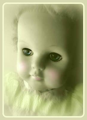 Photograph - Antique Doll Vignette The Second by Susan Lafleur