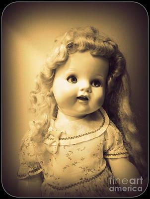 Antique Dolly Art Print by Susan Lafleur