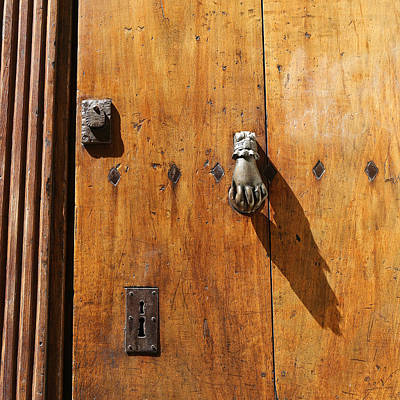 Photograph - Antique Door 2 by Andrew Fare