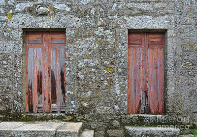 Photograph - Antique Doors In Monsanto by Angelo DeVal