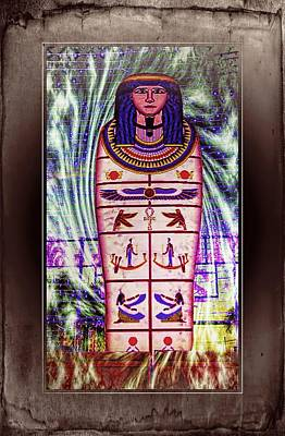 Antique Egyptian Magic Art Print by Ian Gledhill