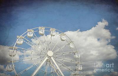 Photograph - Antique Ferris Wheel by Liesl Marelli