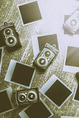 Antique Film Photography Fun Art Print