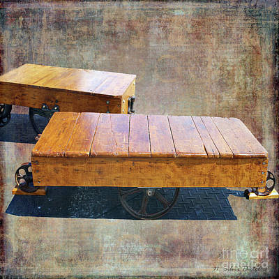 Photograph - Antique Flatbeds by Nina Silver