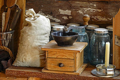 Photograph - Antique Grinder by Scott Read