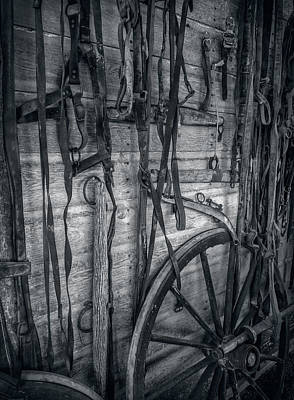 Photograph - Antique Horse And Carriage Gear by Ray Van Gundy