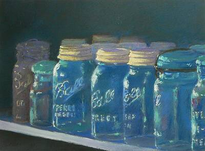 Painting - Antique Jars by Boyd Miller