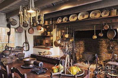 Mortar Photograph - Antique Kitchen by Jeremy Woodhouse