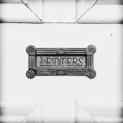 Antique Letterbox Art Print